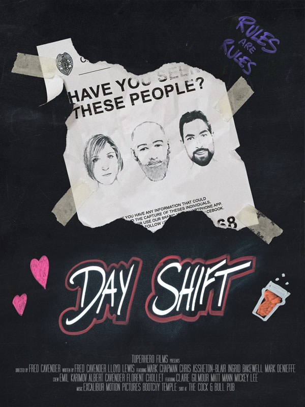 Day Shift poster